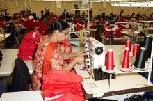 We have a vast variety of sewing machinery at our disposal for a number of designs.