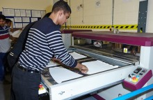 We also carry out sublimation print.